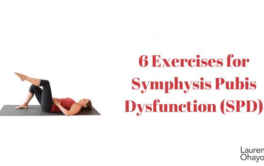 Symphysis Pubix Dysfunction exercises